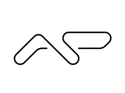Logo Andrei Pop grid initials design logo