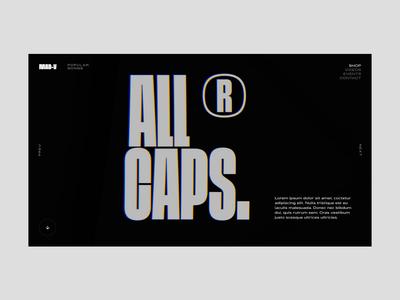 Octane Material octane cinema 4d interaction design web typography ui