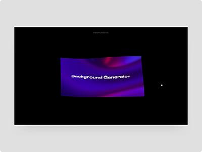 Iridescent Cloth octane cinema4d web interaction typography ui