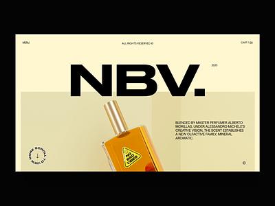 Fragrance Mockup octane c4d design interaction web typography ui