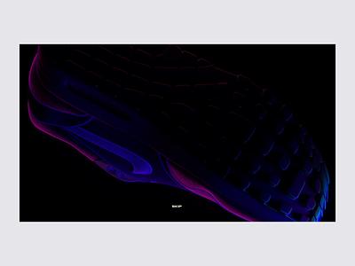 Velocity Controlled Animation octane c4d animation minimal design interaction web typography ui