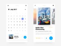 Release schedule  app