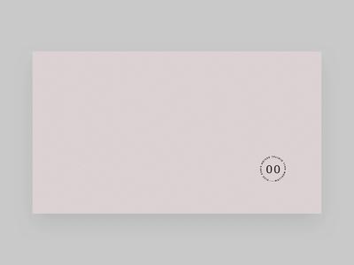 Pre-loader animatic motion minimal porfolio principleformac pre-loader page transition ui typography web