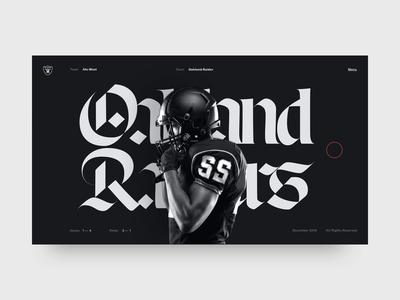 Font Exploration minimal art direction web design makereign typography ui