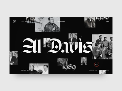 Hall of fame distortion prototype aftereffects motion makereign web typography ui