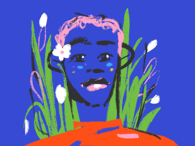 You are spring, sketch 2 sketch spring youth portrait man character character design procreate illustration