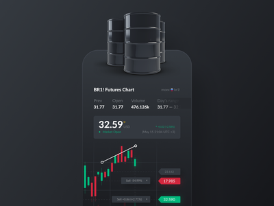 Trading hyip oils oil inspiration iphone ios mobile ui mobile app инвестиции хайп трейдинг trading app trading app investing investment uiux ui design