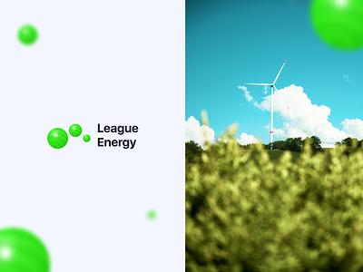 League Energy - Landing Page & Logo web design landing page collor app design brand design logo design web website app branding logo illustration uiux design graphic design ui