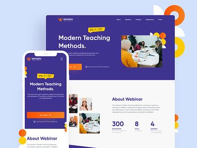 WinWin Education - Landing Page