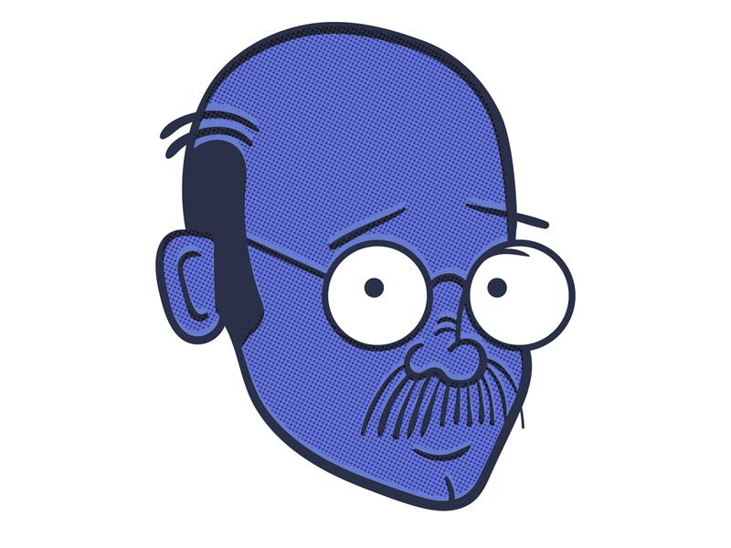 Tobias Funke, The Blue Man
