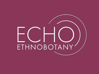 Echo Ethnobotany identity design logo design branding identity logo psychedelics mushrooms