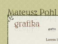 Portfolio design fragment