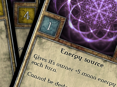 Game cards game cards fantasy rpg wood magic power print