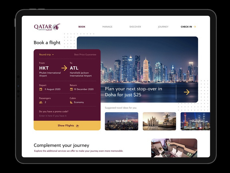 Airline Homepage booking flight booking flight figma landing page home page website design webpage website ipad pro desktop airways airline
