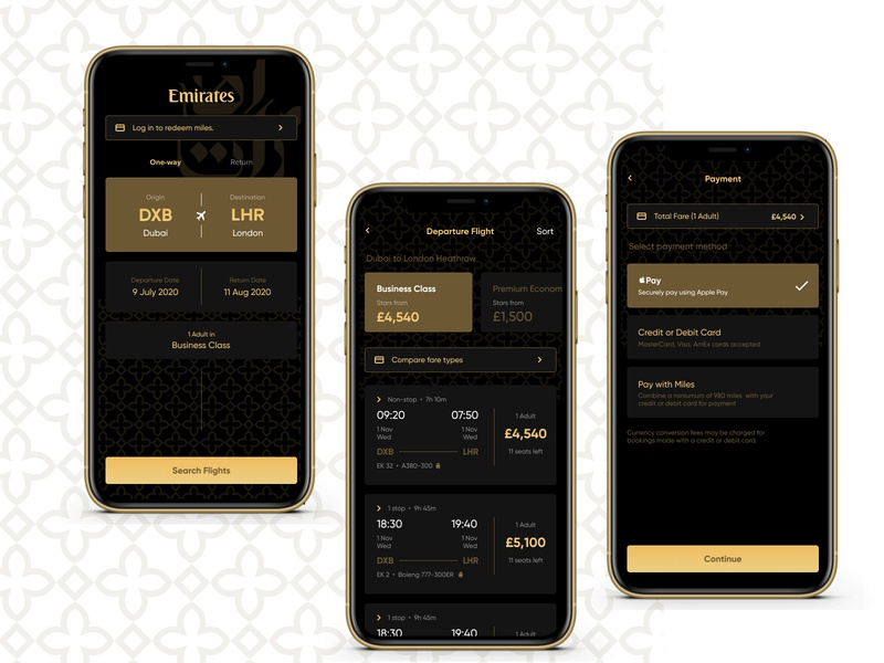Goin' in Style flight search aeroplane airline flight booking flight gold dark ui ios app iphone app ios iphone