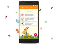 UW - Nature Collection App Design