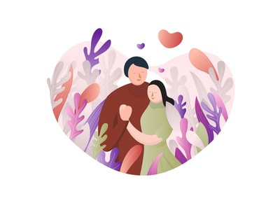Valentine's day Illustration