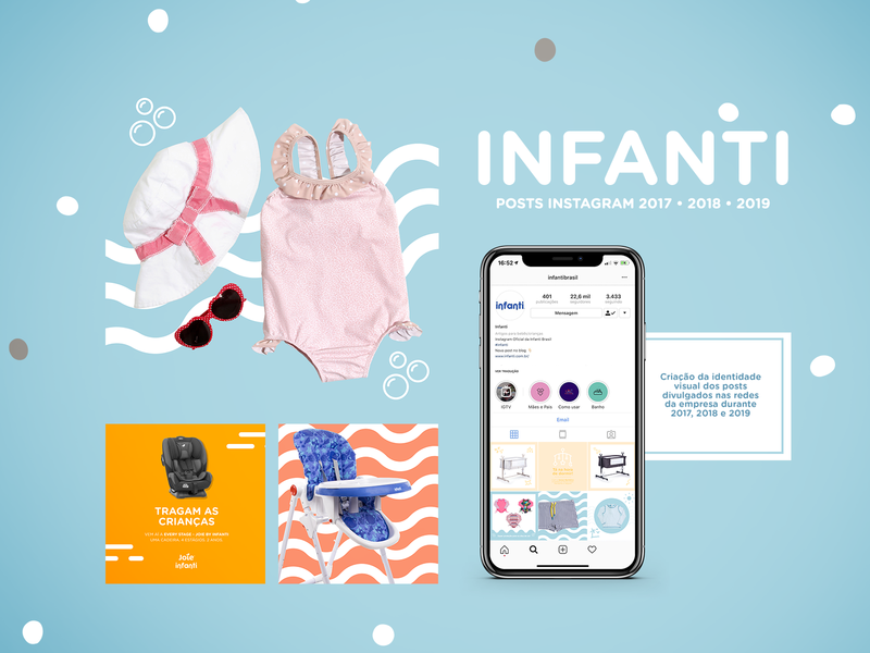 Infanti instagram templates post instagram app marketing marketing minimal rio de janeiro brasil art design brazil art director