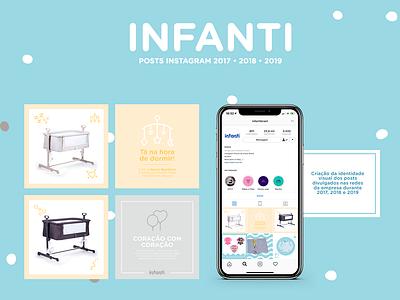Infanti instagram templates templates posts instagram web art design rio de janeiro brasil brazil infanti baby art director