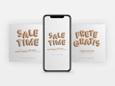 Sale time campaing LETIH