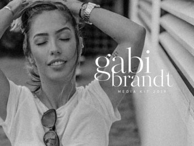 Gabi Brandt │ Media Kit cover