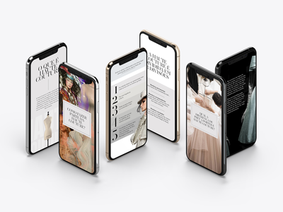 Instagram Stories series │ Haute Couture