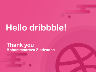Hello Dribbble! welcome hello first shot dribbble debut community illustrator photoshop