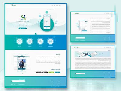 website design illustration photoshop webdesign website ui