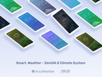 Smart Weather with AccuWeather - ZenUI Climate System