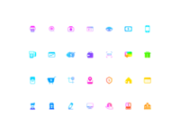 Electric Payment Icons 💰