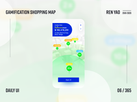 Gamification Shopping Map