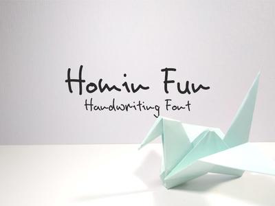 Homin Fun Font