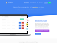 Landing page for Clever Beagle