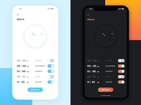 Which one? Alarm app