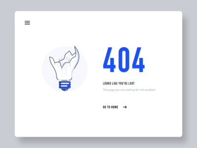 404 Page - Day #007 web material sketch ux ui page 404 daily 007 100