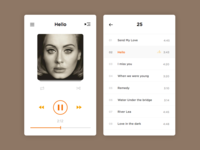 Music Player  Day - #009