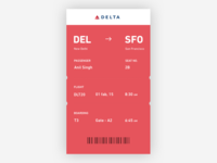 Boarding Pass - Day #21