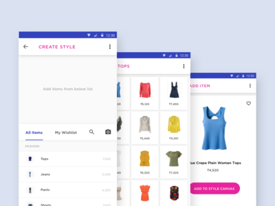 Create Style create vibrant mobile flat design material android buy fashion style
