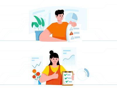 无题 website illustration