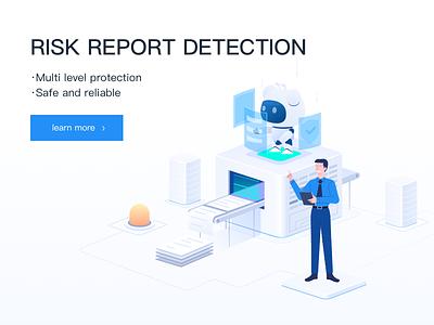 Risk report detection