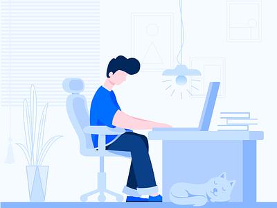 working web design exercises illustration