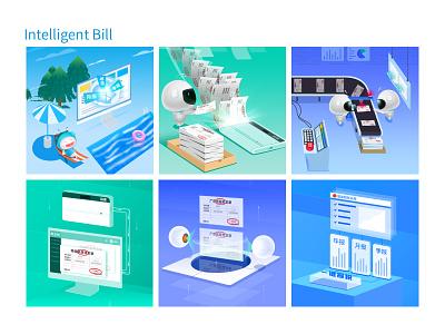 Intelligent Bill vector