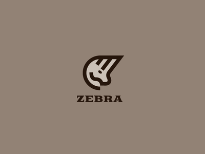 Animals - Zebra graphic design flat vector logotype logo africa zebra animal
