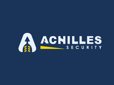 Achilles 2 company design flat greek illustration logo mythology security vector