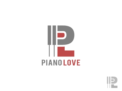 Piano Love logo design