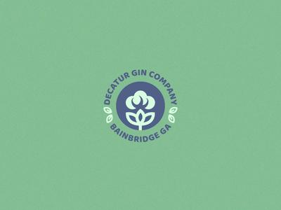 Decatur Gin Logo Design