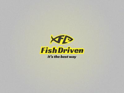 Fish Driven logo design