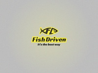 Fish Driven logo design