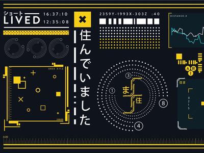 Futuristic UI/UX
