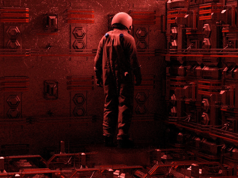 TIME render sci-fi space video game 3d design 3d cinema4d